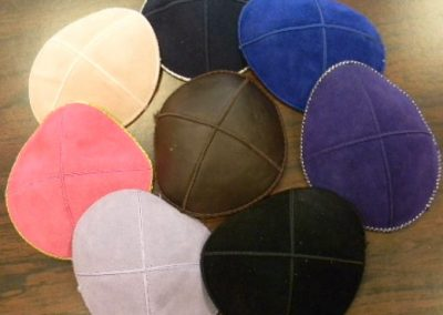 Leather-&-Suede-Kippot