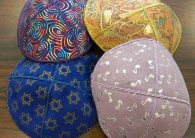 Leather-&-Suede-Kippot-with-Special-Designs